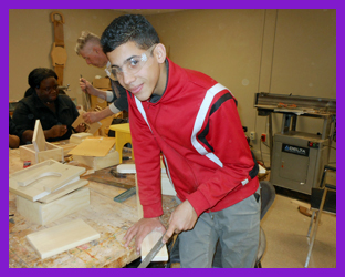 Youth in Woodworking Program