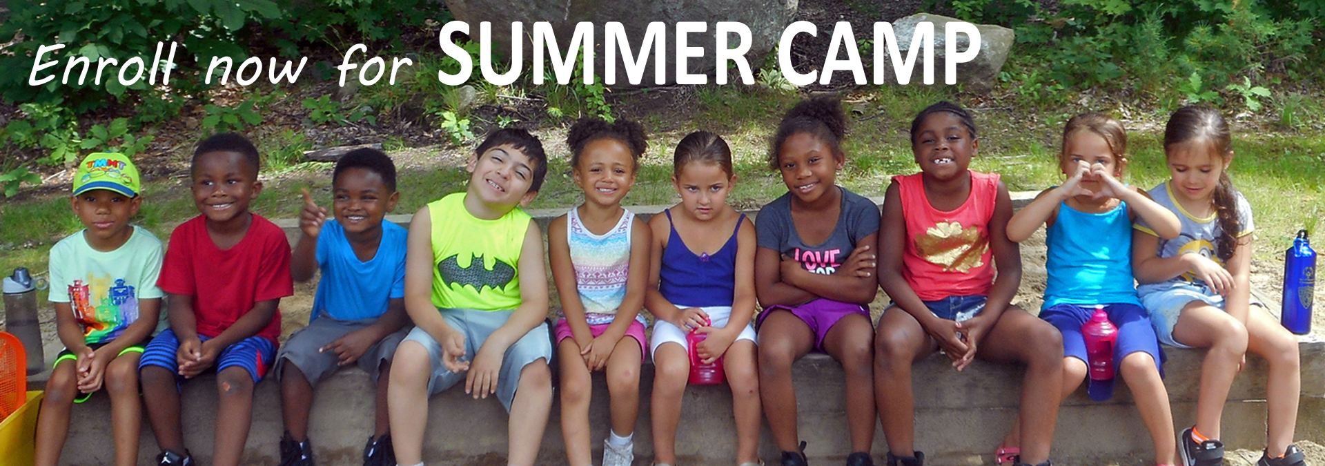 Enroll now for Summer Camp