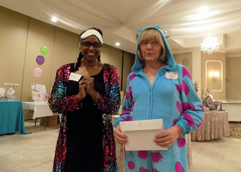 "Pajama Party 2018-Emcee and winner ""Best PJ"" category"